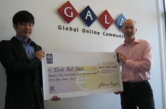 gPotato'dan tsunami mağdurlarına bağış