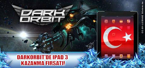 Darkorbit iPad Kampanyası