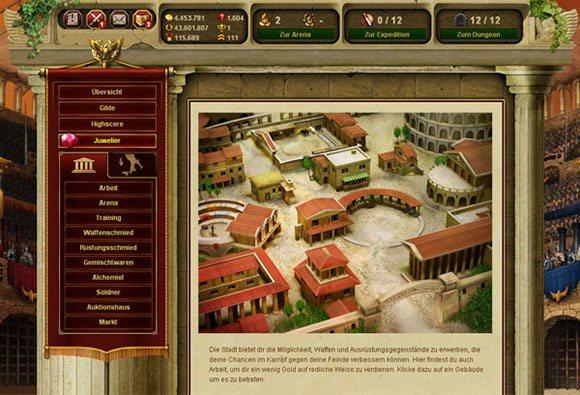 Gladiatus Tarayıcı Oyunu