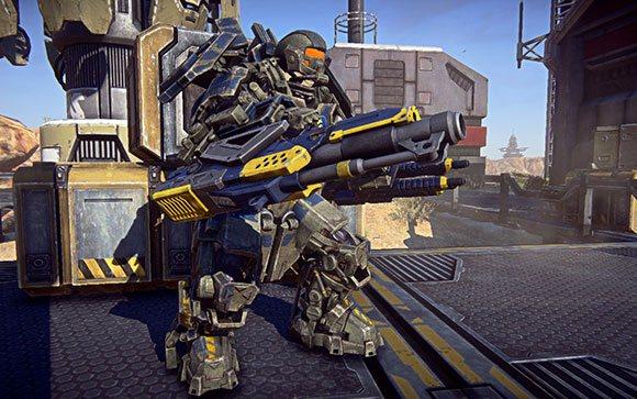 PlanetSide 2 oyun içi görüntüler