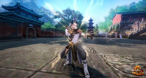 Age of Wulin Foot Stand