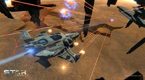 Star Conflict açık betası başladı