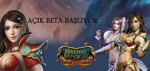 Battle of The Immortals Açık Beta