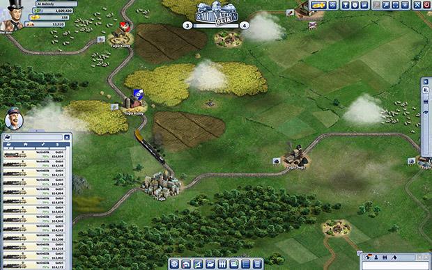 Rail Nation Tarayıcı Oyunu