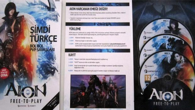 AION Ücretsiz DVD