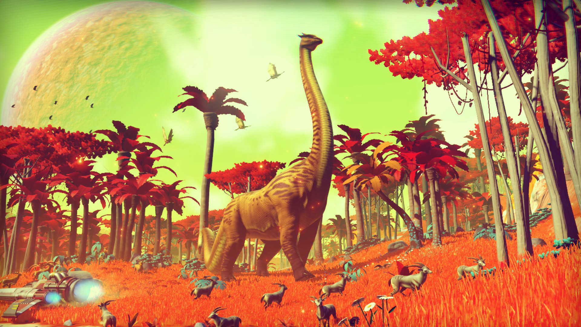 No Man's Sky Gamescom 2014