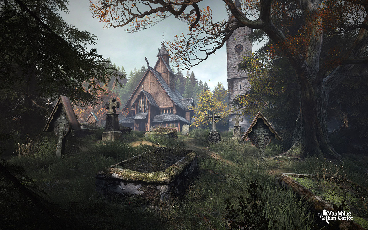 The Vanishing of Ethan Carter Screenshot