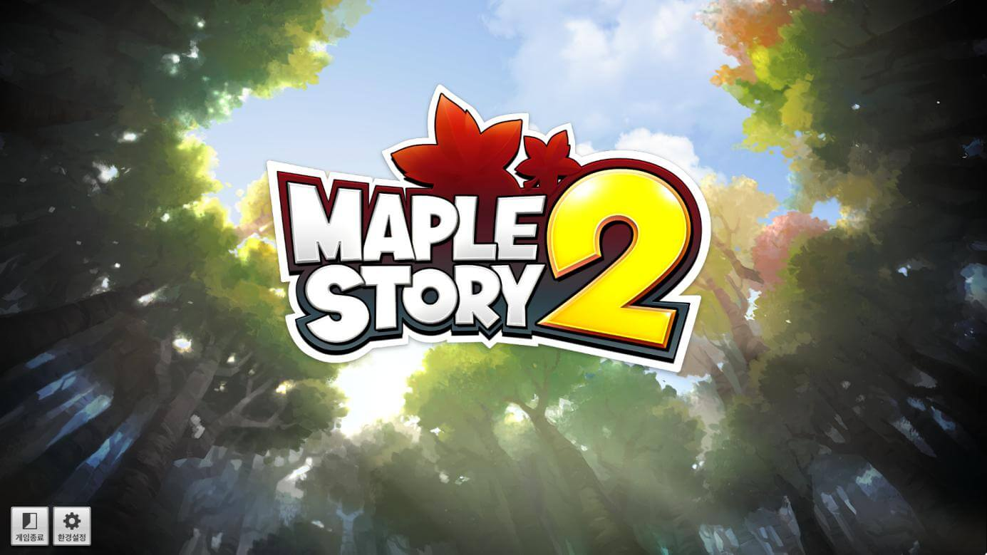 maple story 2 mmorpg