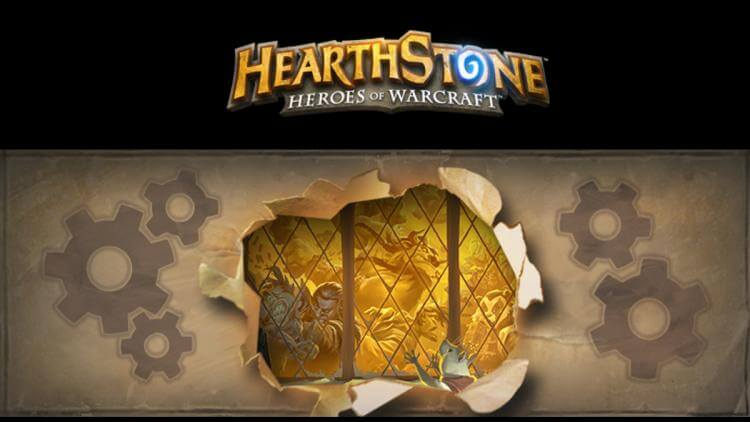 Hearthstone Patch 2.7 Released Title