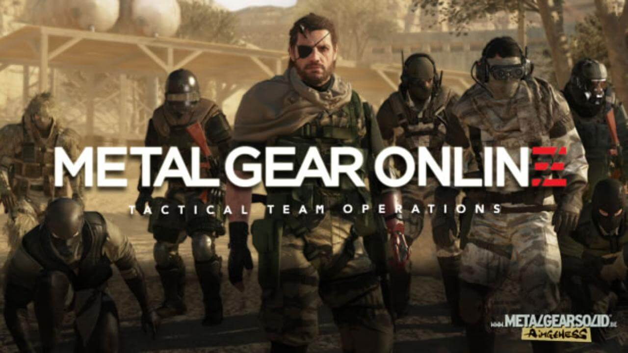 Metal Gear Online PC İçin Geldi!