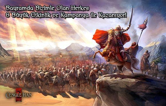 Cengiz Han 2 Kurban Bayramı ve Cumhuriyet Bayramı