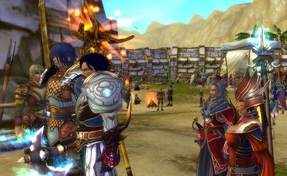 Sonrasuz Macera, Runes of Magic olarak Aeria Games'e geçiyor