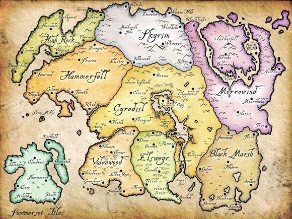 The Elder Scrolls Online - Tamriel